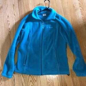 GUC blue Columbia women's zip up sz M